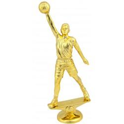 Pokal košarka FB36G višine 24cm