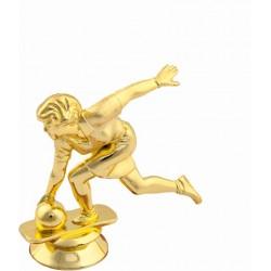 Pokal bowling / kegljanje (ženski) FB12G 9cm