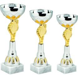 Pokali univerzalni 8396ABC, komplet 3 pokalov (od 25-29cm)