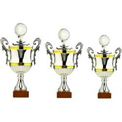 Pokali univerzalni E128, komplet 3 pokalov (od 32-38 cm)