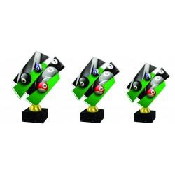 Pokal ACRYL biljard ACZM16ABC