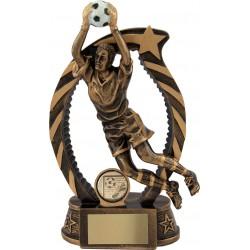Pokal nogomet vratar RFST1336 15cm